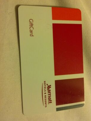 $25.00 Marriott Gift card FREE NATIONWIDE shipping!!!