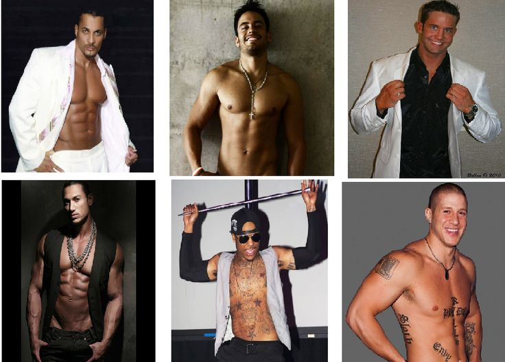 Hottest male strippers in Las Vegas for bachelorette party