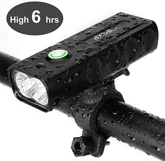 Ipsxp Bicycle Headlight Usb Rechargeable 1000 Lumen Led Bike