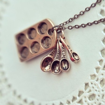 the little baker necklace by belle hibou
