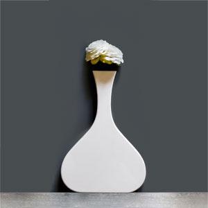 Vaso Vanity stretto white
