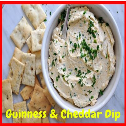 Guinness & Cheddar Dip.  Click Picture & Get Your Copy of Mouthwatering St Patrick's Day Recipes http://marleneroberson.com/st-patricks-day-recipes/