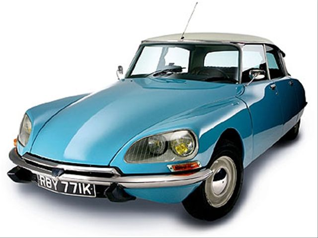 Citroen DS - Flaminio Bertoni