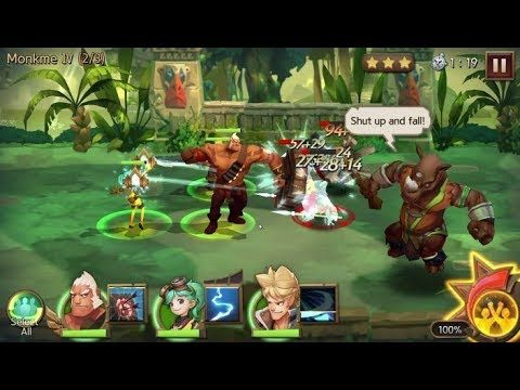 Hunters League RPG FACEBOOK GAMEplay #3 - Hunters League is a Free to play Role Playing Multiplayer Game featuring Cross platform play among iOS Android and PC via Facebook Gameroom