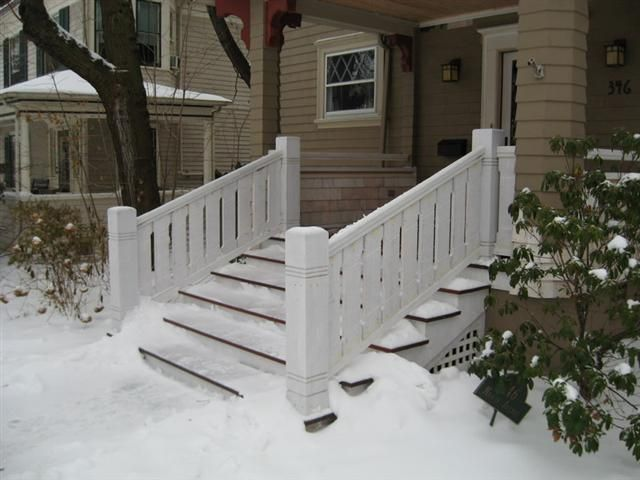 Porches, Stairs And Railings