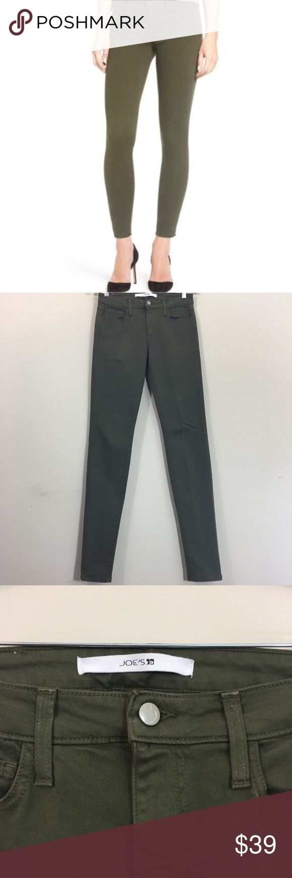 Joe's Jeans The Skinny Fit Inseam: 33 inches Leg Opening: 5 inches Lay Flat Waist: 14.5  inches Rise:  9 inches Fabric: 93% cotton, 6% PES, 1% lycra Desc: Like new condition, excellent stretch  ✂️Bundle & Save: 10% Off 2 or More Items ❌ No Trades 📬 Shipping within 48 hours Joe's Jeans Jeans Skinny