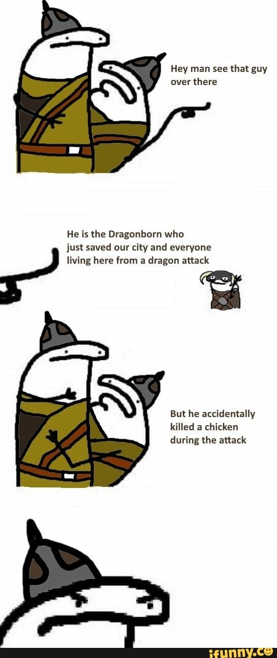 #skyrim, #meme, #tumblr, #offensives, #skyrimlogic