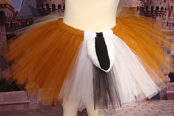 Chip and Dale Inspired Running Tutu by RunSillyOnEtsy on Etsy, $32.00