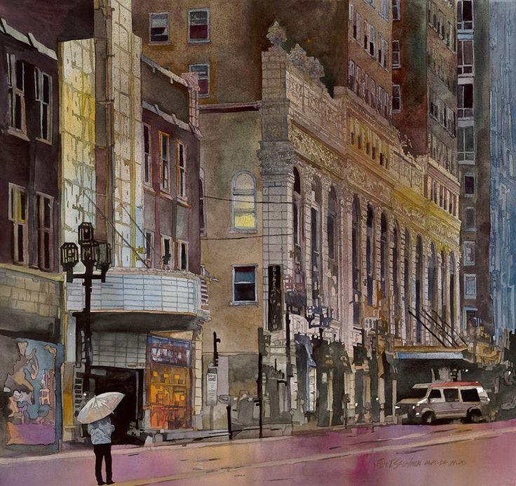 john salminen-美國畫家,約翰·薩爾米寧-具有世界各地特色人文景觀水彩畫,富有精美的紋理,細微的高色度與更柔和的色彩微妙並置(第二輯)。。。 - ☆平平.淡淡.也是真☆  - ☆☆milk 平平。淡淡。也是真 ☆☆