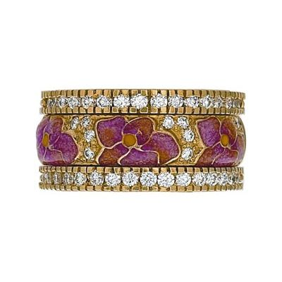 hidalgo bangles jewelry | ... Rings Flowers Collection Set (RS7939 & RB480) - Hidalgo Jewelry
