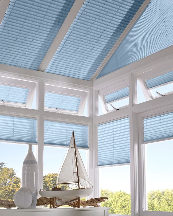 Pleated Conservatory Blinds - Conservatory Blinds - Thomas Sanderson
