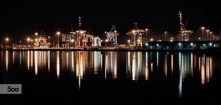 This was taken at Port Melbourne, Australia.