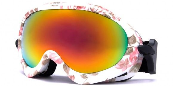 Agate Floral - Womens Ski Goggles