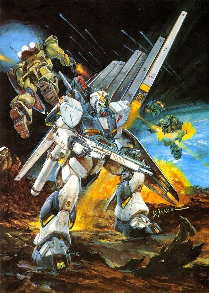 GUNDAM GUY: Gundam Official Artworks by Yoshiyuki Takani