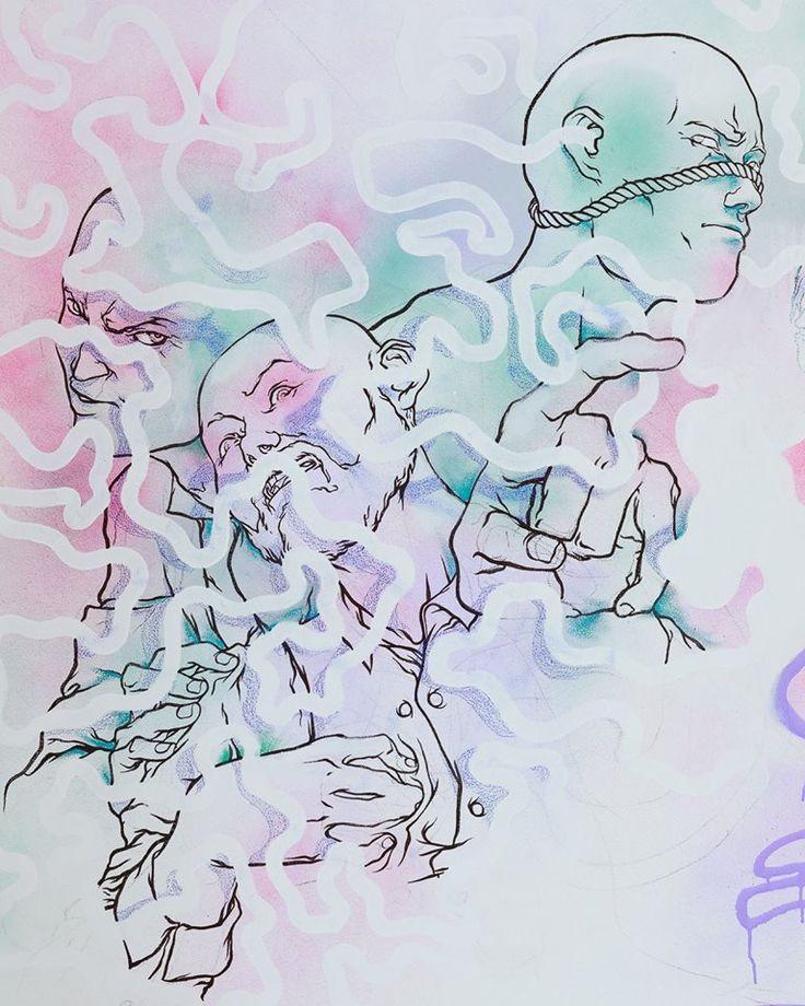 """Alexandre d'Alessio // 4ème artiste à investir Le Cube avec son installation éphémère """"Entrelacs"""""""