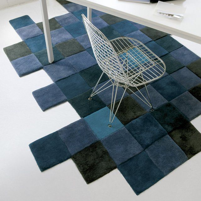 17 best images about tapis rugs on pinterest ikea ikea pastel and womb chair - Tapis bleu ikea ...