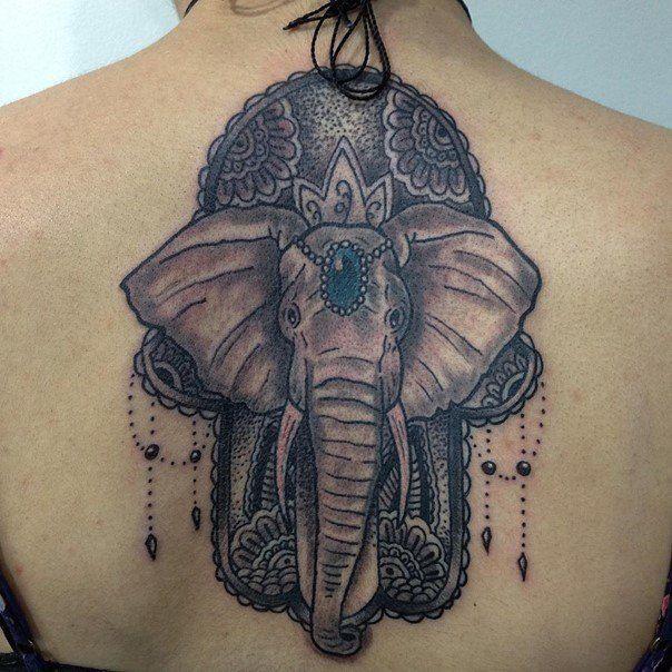 122 best tattoos images on pinterest tattoo ideas for Hamsa elephant tattoo