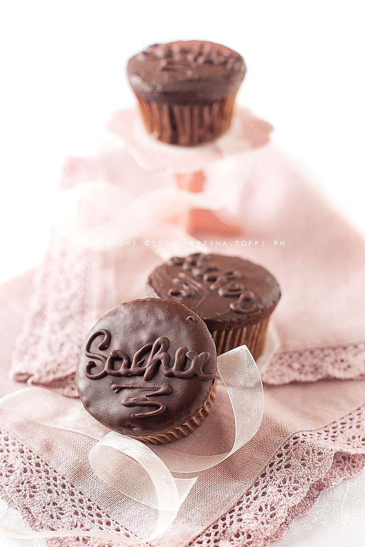 Sacher cupcake