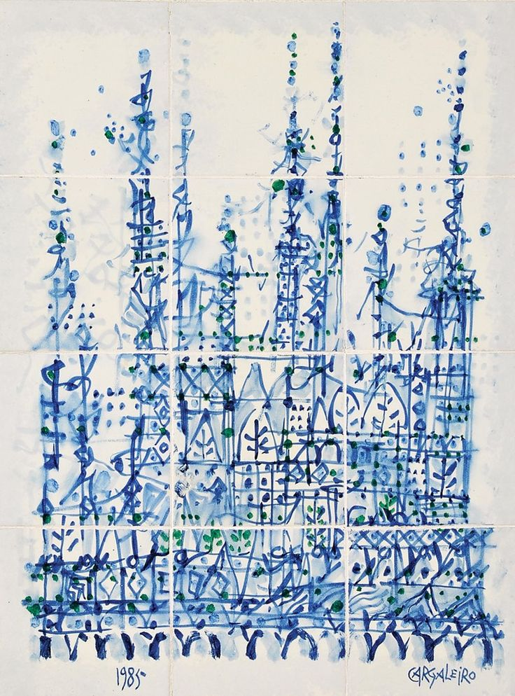 78 best images about manuel cargaleiro on pinterest for Pintura para azulejos