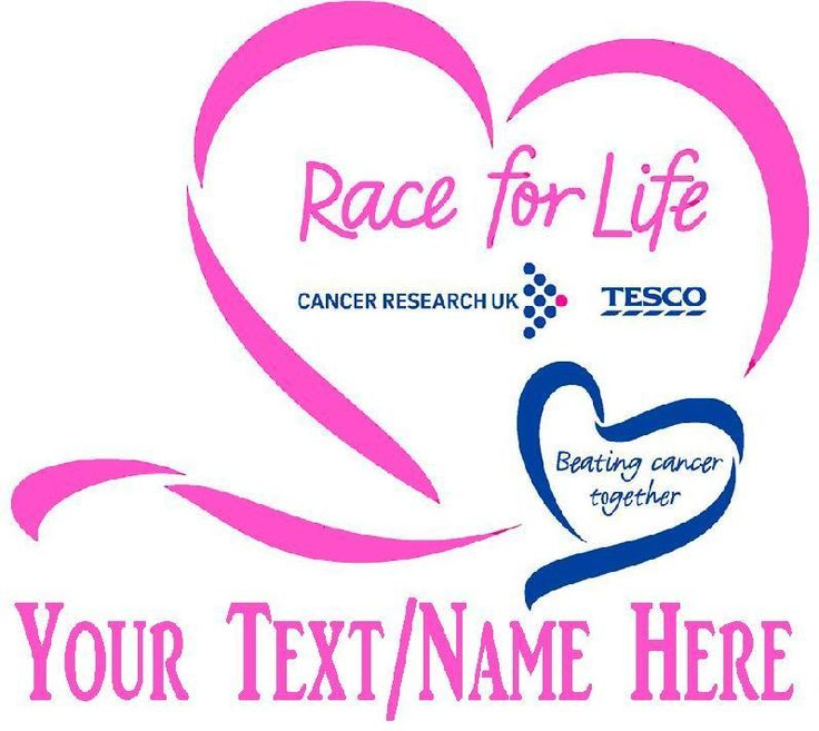 PERSONALISED Race For Life T Shirt Transfer A5 2017 Iron On Charity Pink in Clothes, Shoes & Accessories, Women's Clothing, T-Shirts | eBay!