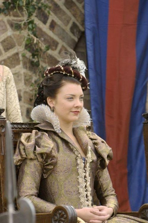 Natalie Dormer as Anne Boleyn inThe Tudors (2007-2010).
