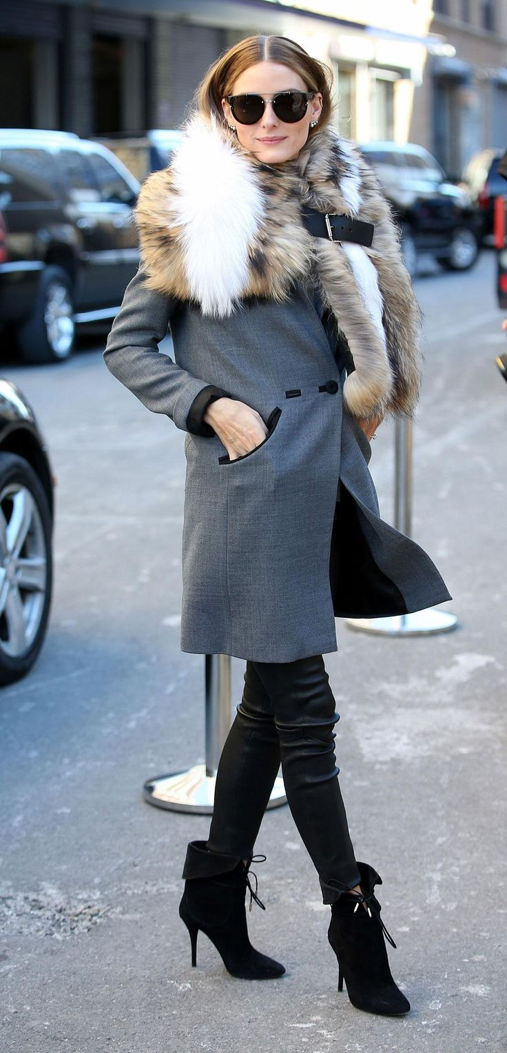 Click to see all of Olivia Palermo's favorite fall trends and outfit ideas for how to wear them