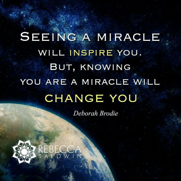Motivational Inspirational Quotes: Best 25+ Miracle Quotes Ideas On Pinterest