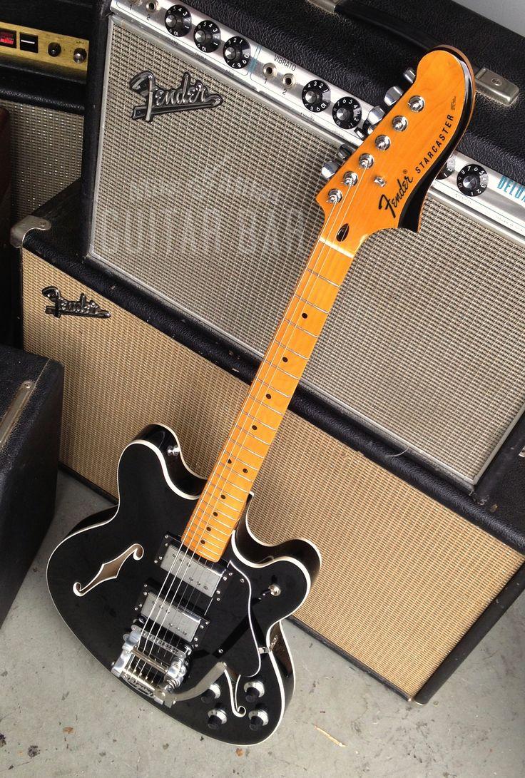 2013 Fender Starcaster reissue. So fine...