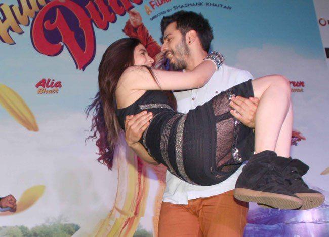 Alia Bhatt, Varun Dhawan at Humpty Sharma Ki Dulhania Promotion Event
