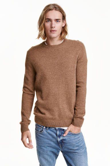 Джемпер из смесовой шерсти | H&M