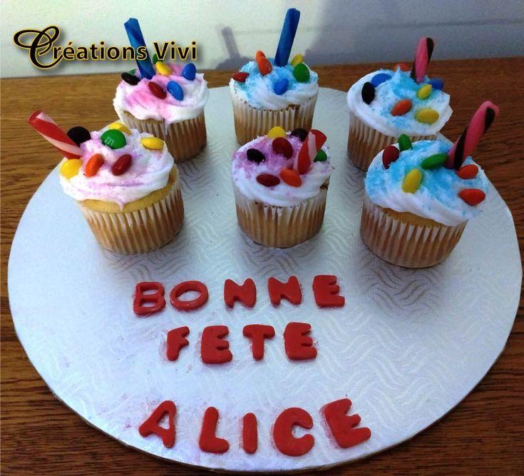 Cupcake bonbons