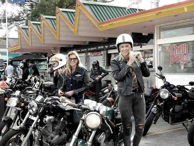 Bikies Sex Girls In America
