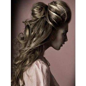 .Hair Ideas, Hairstyles, Wedding Hair, Beautiful Long Hair, Makeup, Prom Hair, Big Hair, Hair Style, Pretty