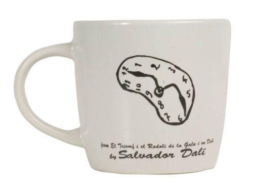 TAZZINA TAZZA CAFFE' MUG BIANCO SCRITTA NERO personalizzabile SALVADOR DALI' | eBay