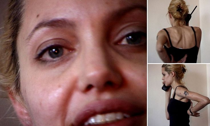 Shocking video footage from Angelina Jolie's 'drug fuelled past'