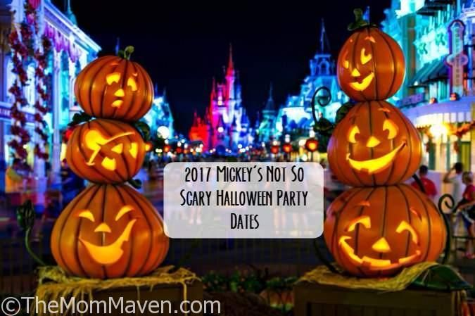 Last week Walt Disney World announced the dates for the two biggest parties of the year, Mickey's Not So Scary Halloween Party and Mickey's Very Merry Christmas Party. http://themommaven.com/2017/04/2017-mnsshp-mvmcp-dates/
