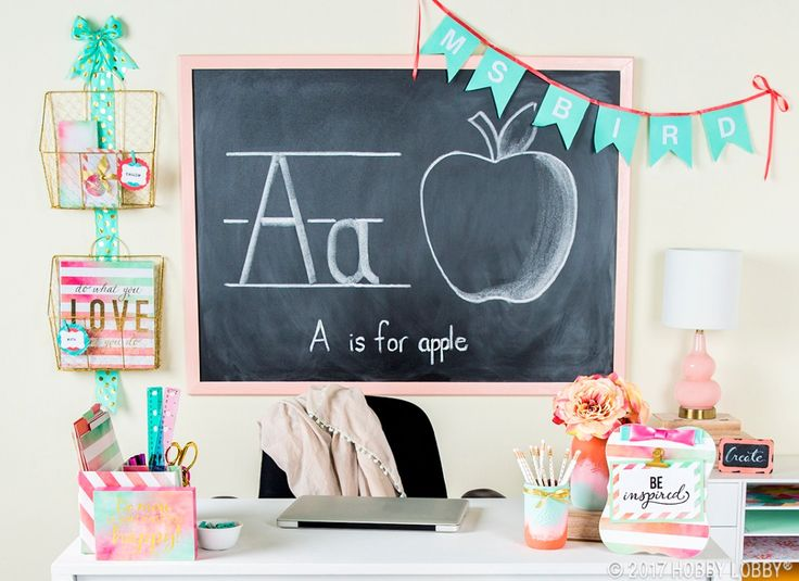 Start the school year off right with a stylish space!