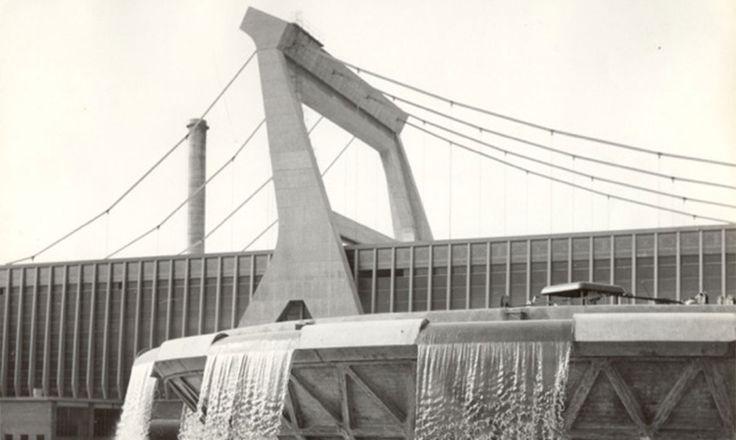 1960 - Cartiera Burgo di Pier Luigi Nervi
