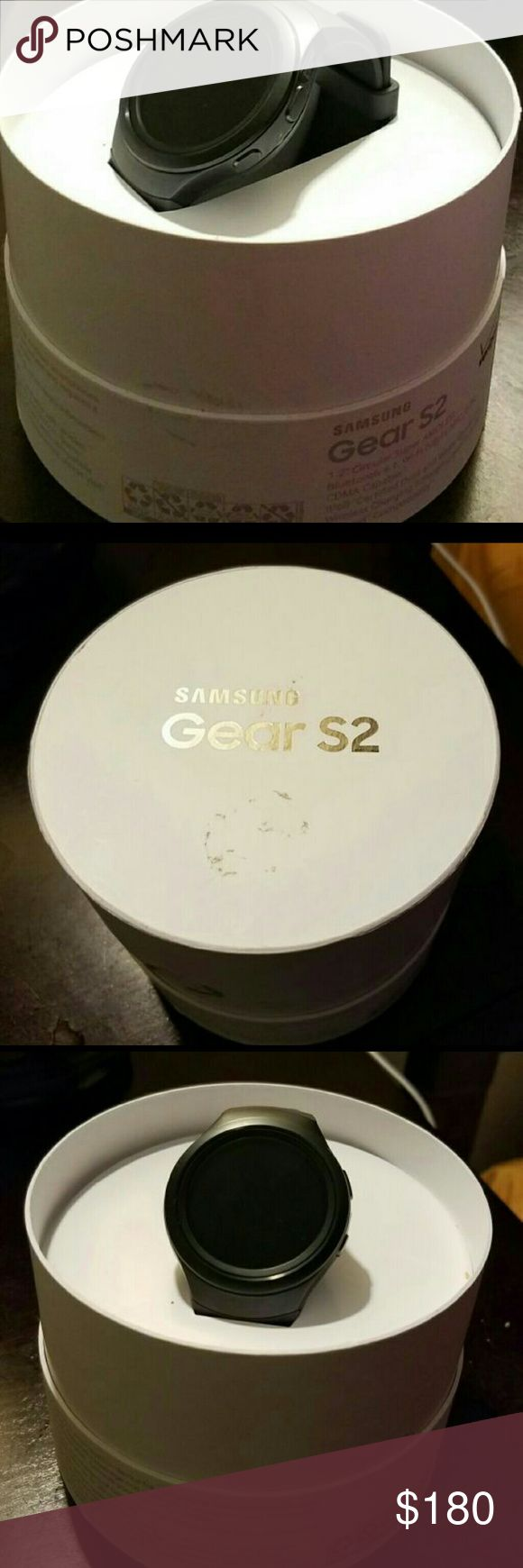 Samsung Galaxy S2 Watch Like new SAMSUNG GALAXY S2 WATCH  very nice Xmas gift. Comes with original box as well. samsung Jewelry