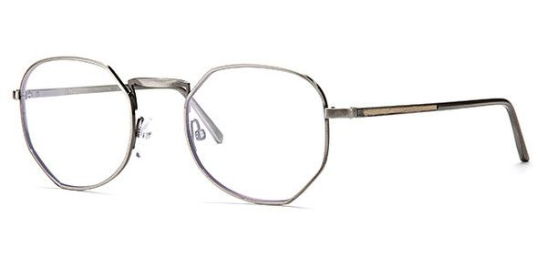 Rick - Matte Antique Silver - Optical Frame