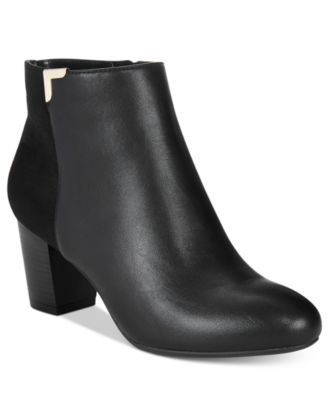 Karen Scott Gahriet Block-Heel Booties, Only at Macy's