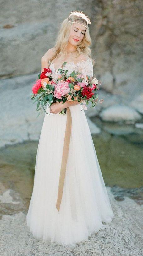 wedding bouquet idea; Featured photographer: Sophie Epton Photography