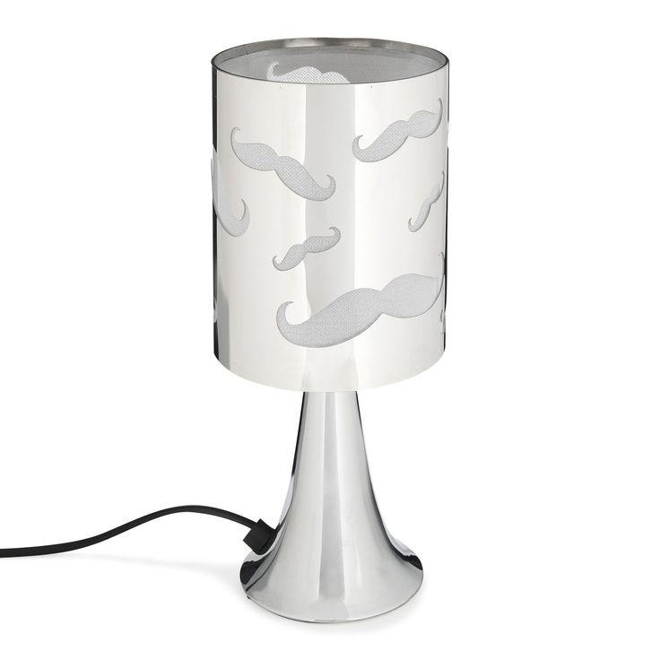 Touch / Lampe sensitive avec abat-jour Chrome - Moustache - Les lampes - Eclairage des enfants - Luminaires - Décoration d'intérieur - Alinéa
