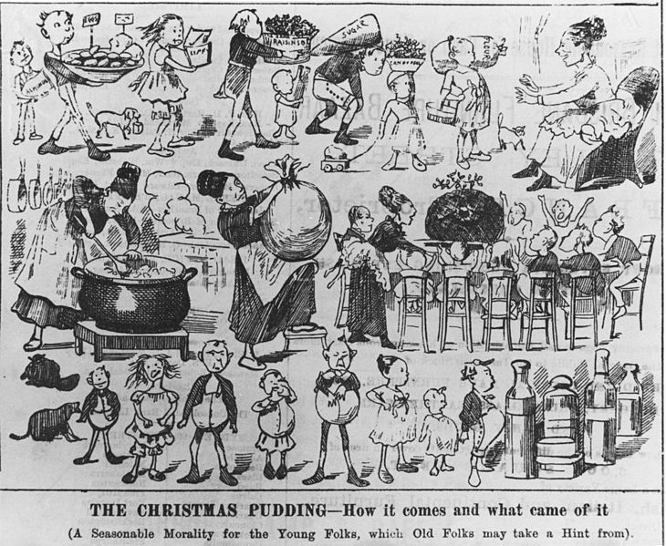 Christmas pudding history