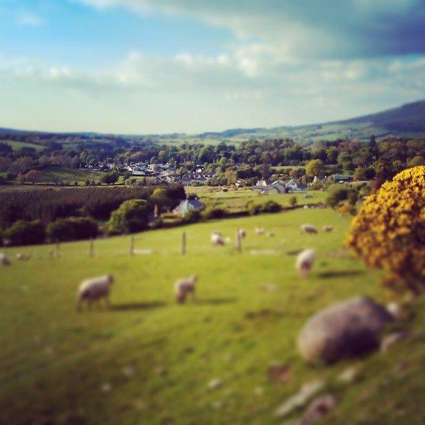 My tiny village! Love Ireland :)