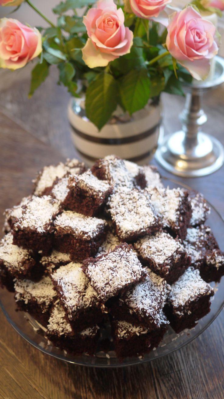 Verdens beste sjokoladekake i langpanne!