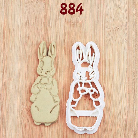 Peter Rabbit Cookie Cutter peter rabbit party by MKCookieCutter