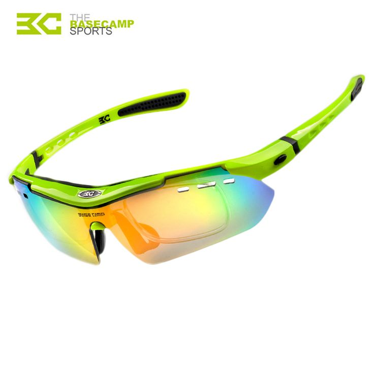 2015 Brand BaseCamp Five Lens Mountain Bike Polarizing Glasses Windproof  Cycling Sunglasses Bicycle Bicycle Accessories BC-102