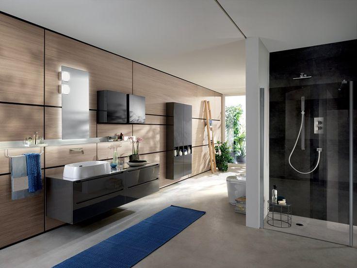 バスルーム家具セット IDRO by Scavolini Bathrooms デザイン: Castiglia Associati