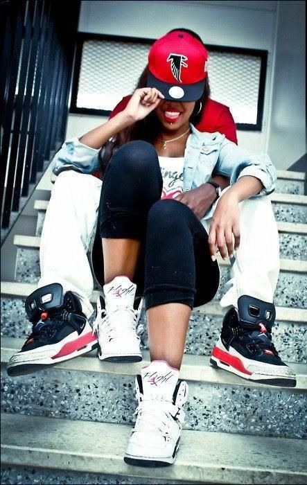 couple swag | couple, jordans, love, swag, swag couple - inspiring picture on Favim ...